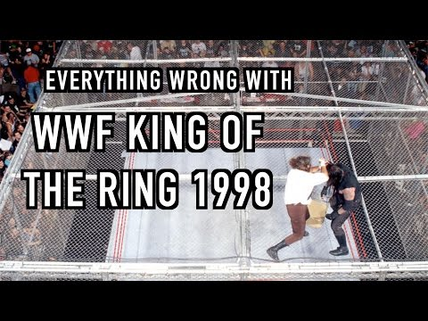 Episode #178: Everything Wrong With WWF King Of The Ring 1998