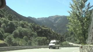 preview picture of video 'Encamp - Road to Andorra La Vella'