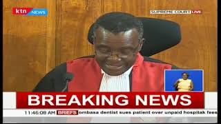 BREAKING NEWS: CJ Maraga declares presidential results null and void