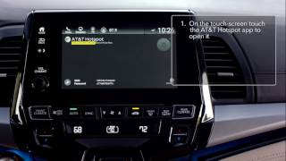 2018 Honda Odyssey: How to Use the Built-In 4G LTE Wi-Fi
