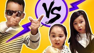 Мальчик против девочек! 😅Самый смешной вайн 😂 Kids funny Girls VS Boy ❤️Аминка Витаминка
