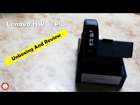 Lenovo HW01 Plus | Unboxing & Review | Is it the best SMART BAND under 3000/-