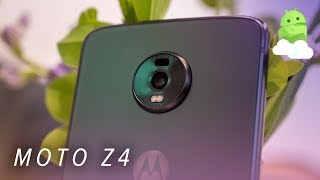 Motorola Moto Z4 hands-on: New host for the same old Mods