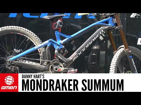 Danny Hart's Mondraker Summum Pro Team DH bike