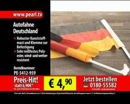 Autofahne Deutschland 2er-Set