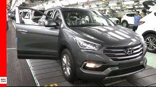 2020 Hyundai Santa Fe Factory at Ulsan Plant