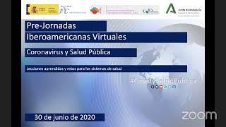 Pre-Jornada Iberoamericana COVID y salud Pública