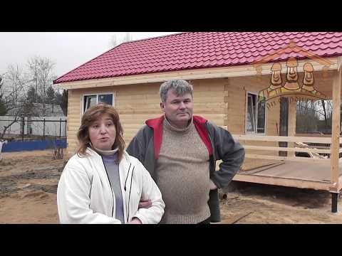 Кривошеева Н.А. - видеоотзыв о строительстве
