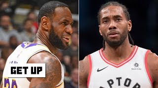 Kawhi-Paul George outrank LeBron-AD on Jalen Rose's top 5 NBA duos | Get Up