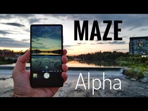 Maze Alpha Smartphone REVIEW – Bezel Less for under $190