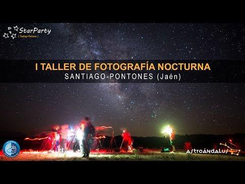 Taller de Astrofotografía durante Star Party