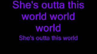 JLS outta this world with lyrics