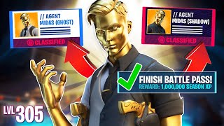 New GHOST & SHADOW MIDAS Challenges! (Fortnite Battle Royale)