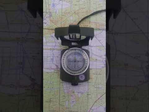 Den Marschkompass richtig benutzen und Marschkompasszahl bestimmen wie bei der Bundeswehr