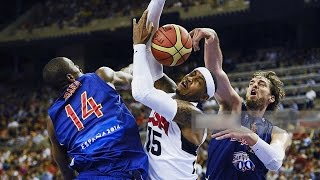 USA @ Spain 2012 Olympic Basketball Exhibition Friendly Match FULL GAME HD 720p Spanish