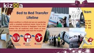 Reach patient to Targeted hospital by Lifeline Air Ambulance in Bagdogra