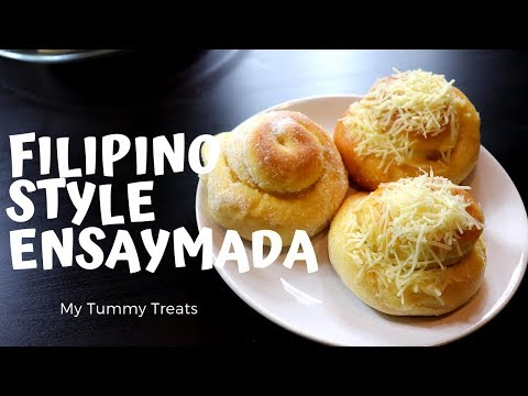 HOWTO MAKE FILIPINO-STYLE ENSAYMADA