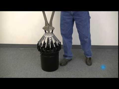 Video Thumnbnail for 5 Gallon Pail Lid Sealers in Use