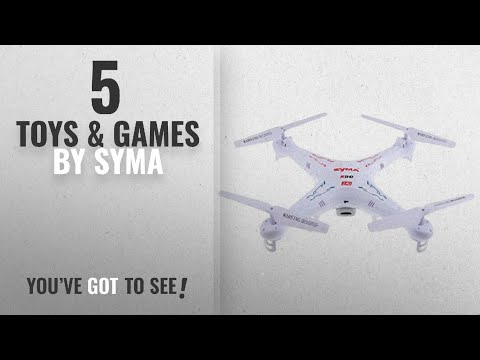 Top 10 Syma Toys & Games [2018]: Syma X5C 2.4G 6 Axis Gyro HD Camera RC Quadcopter with 2.0MP Camera