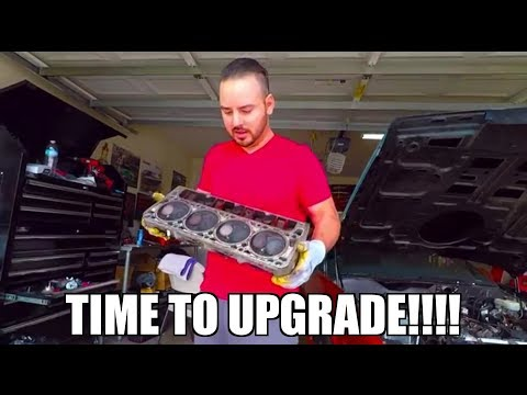 Ls1 head and cam install! PT. 1