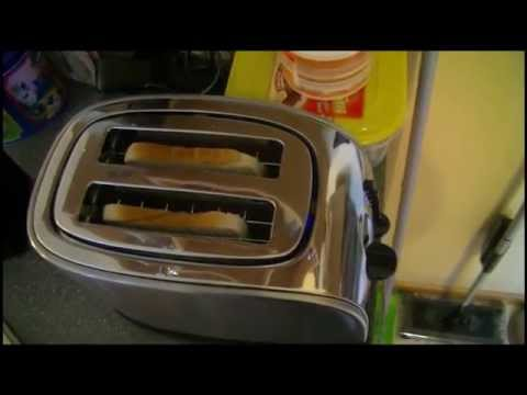 WMF 0414010012 Stelio - Toaster mit Bagelfunktion - Auftauen - Aufwärmen