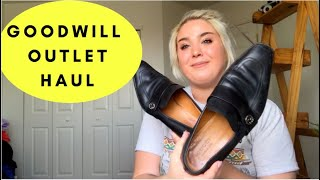 90 Pound Goodwill Outlet Haul to Resell on eBay & Poshmark!! Gucci,& Anthro galore