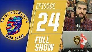 Brian Ortega, Max Holloway, Chris Weidman | Ariel Helwani's MMA Show [Episode 24 - Dec. 3, 2018]