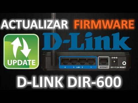 actualizar firmware d link dir 600 c1