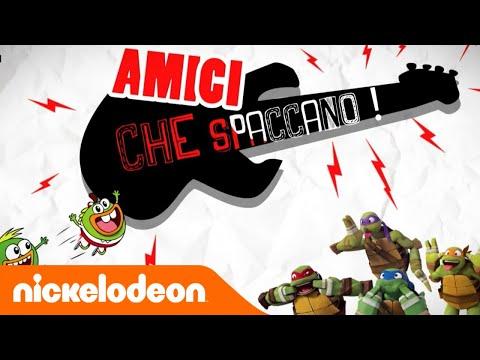 Tartarughe Ninja e Breadwinners sono Amici che spaccano! | Nickelodeon Italia