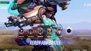 ROAST EVERYONE| Overwatch gameplay w/ D.Va