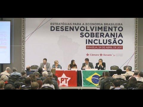 """Seminário """"Estratégias para a Economia Brasileira""""   Mesa 01"""