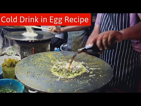 Cold Drink in Egg Dish Recipe – Bullet Fry Egg Dish – Jay Bhole omelette Centre || Surti Egg Recipe