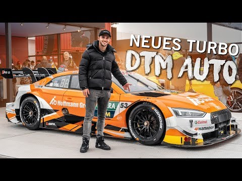 Die neue DTM   610 PS Turbo Monster   Daniel Abt