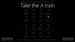 Take the A train (130 bpm) : Backing track