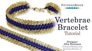 Vertebrae Bracelet- DIY Jewelry Making Tutorial By PotomacBeads