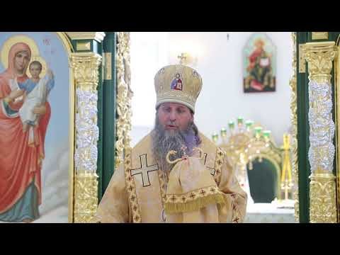 В новом Троицком соборе Кургана прошла вторая архиерейская Литургия