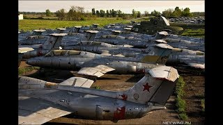 Самый огромный ЗАБРОШЕННЫЙ АЭРОДРОМ времен СССР! Вернее то, что от него осталось...