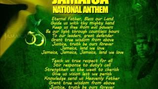 Jamaica National Anthem with Lyrics