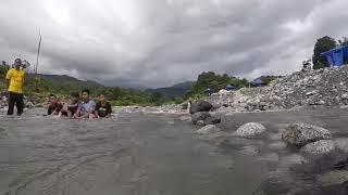 preview picture of video 'Polumpung melangkap view campsite'