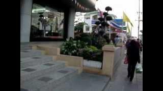 Walking In Lat Krabang, Thailand
