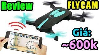 Trên Tay Flycam JY018 Giá Rẻ Bay Ngon (áp Mã Giảm Giá Shopee)