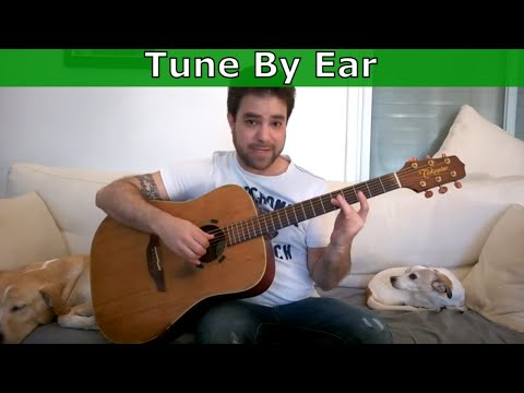 Tutorial: How to Tune A Guitar Perfectly By Ear [NOT by 55545!]