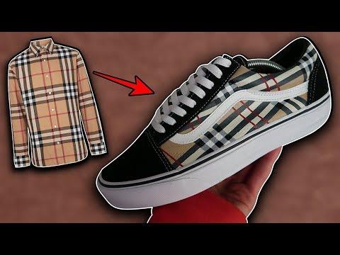 14cef8b545210a Custom Bape Shark Vans + on Feet! - смотреть онлайн на Hah.Life
