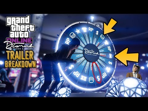 GTA Online: The Diamond Casino & Resort TRAILER BREAKDOWN! Everything You Might Have Missed!