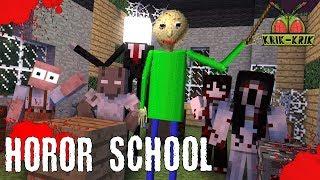 Monster School : HOROR SCHOOL BALDI