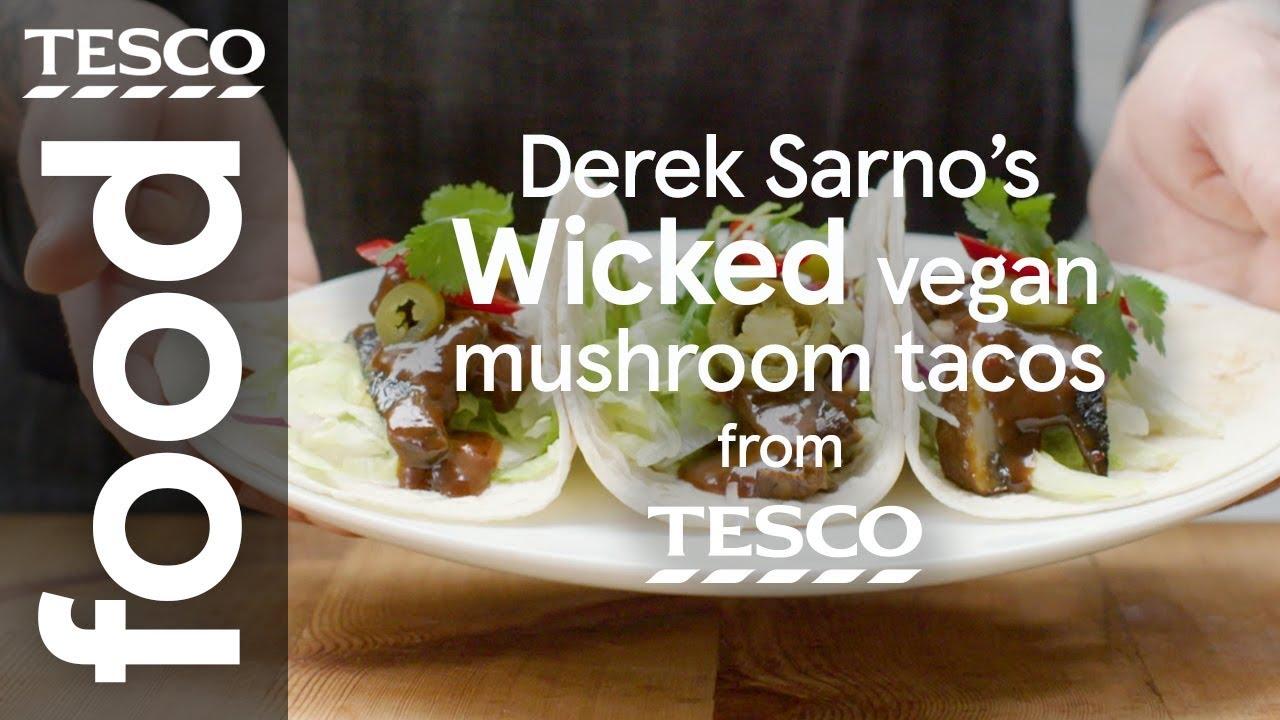 Wicked vegan mushroom tacos