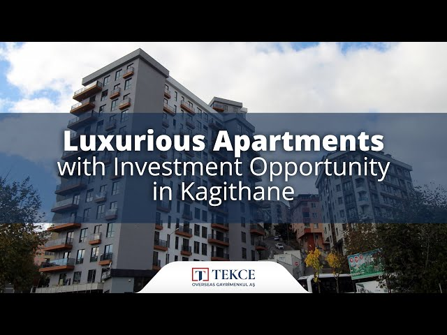 Well-Designed Centrally-Located Apartments in Kağıthane