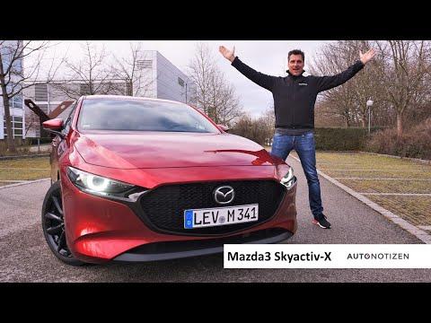 Mazda3 Skyactiv-X 2.0 M Hybrid 180 PS: Review, Test, Fahrbericht