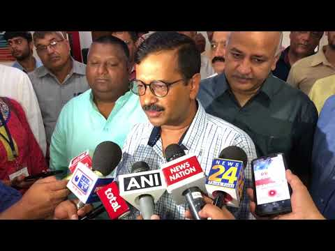 Delhi CM Arvind Kejriwal Briefs Media on the Launch of Door Step Delivery of Government Services
