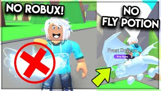Fly Your Pet *WITHOUT* A FLY POTION in Adopt Me! (NO ROBUX NEEDED) Roblox